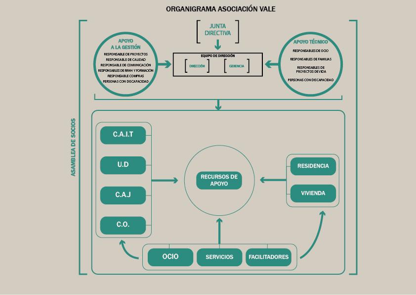 ORGANIGRAMA ASOCIACIÓN VALE