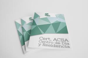 Certificado ACSA Centro de Día y Residencia