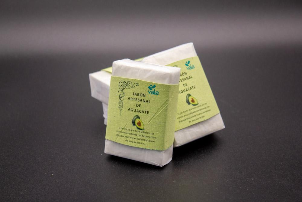 Jabón artesanal de aguacate