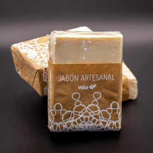 Jabón artesanal en pastilla
